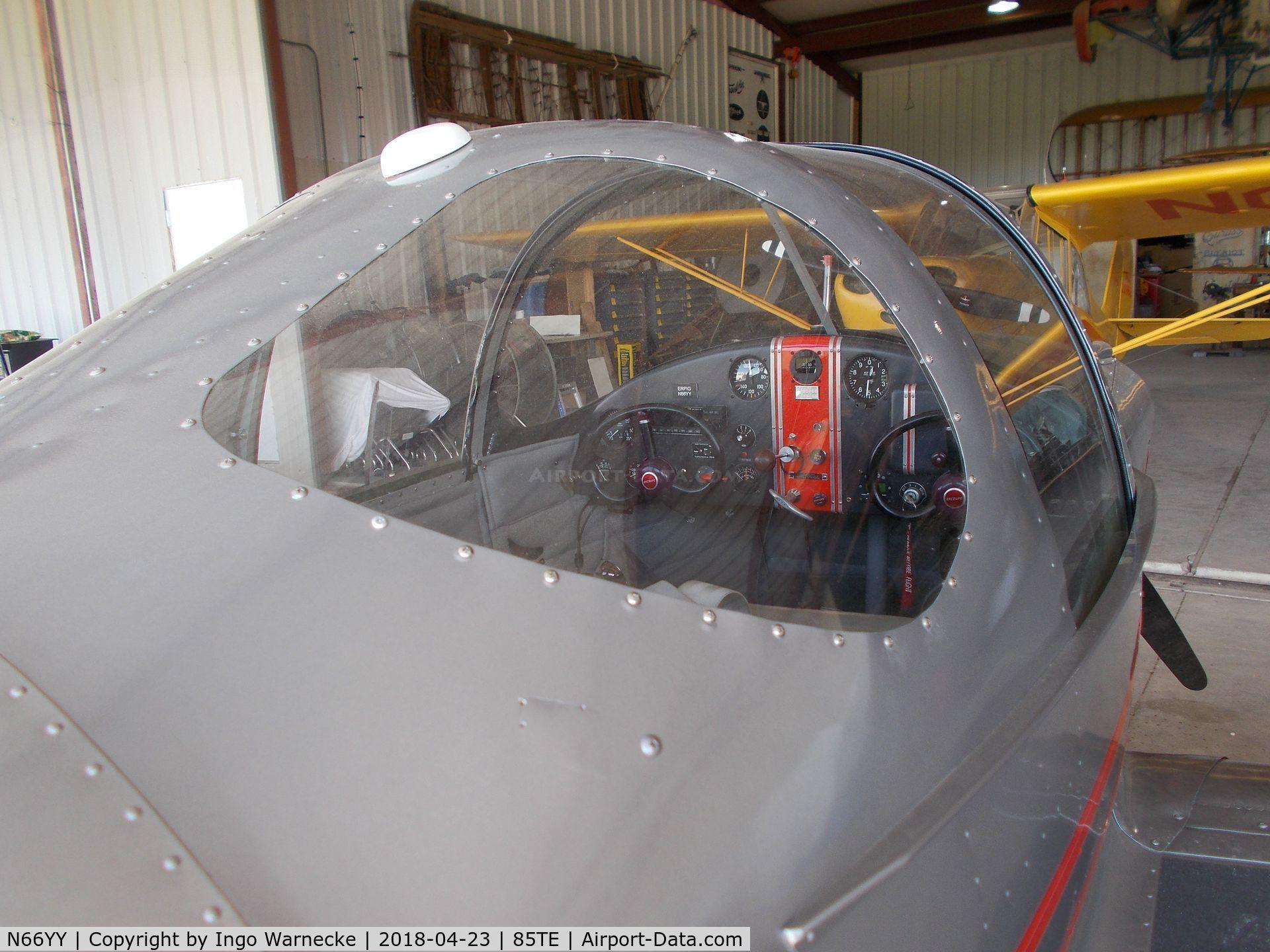 N66YY, Ercoupe 415-C C/N 1643, Ercoupe 415-C at the Pioneer Flight Museum, Kingsbury TX