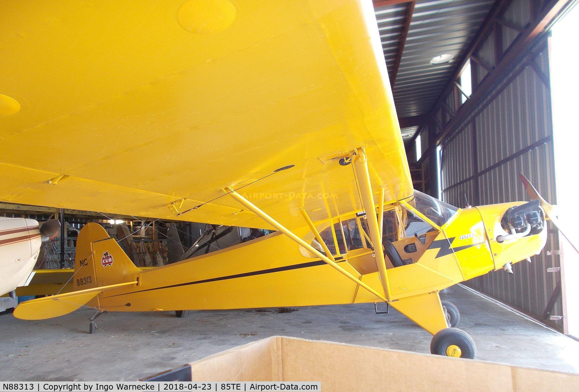 N88313, Piper J3C-65 Cub C/N 15931, Piper J3C-65 Cub at the Pioneer Flight Museum, Kingsbury TX