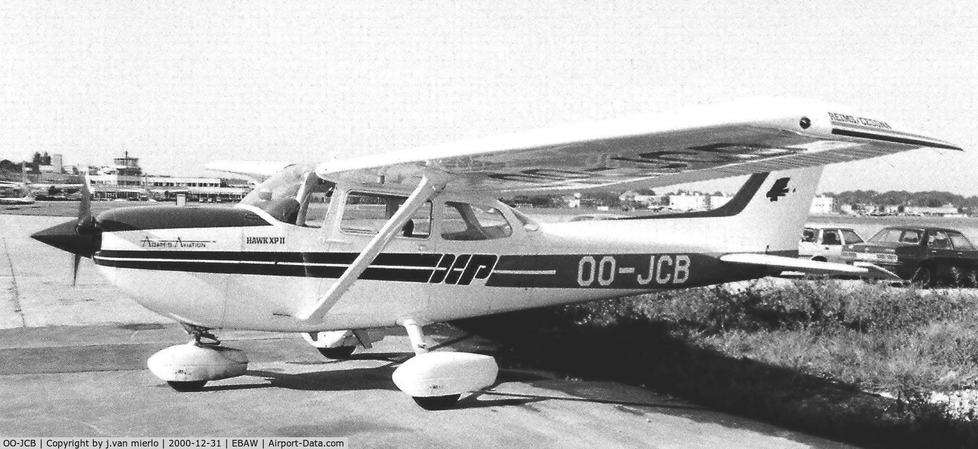 OO-JCB, 1980 Reims FR172K Hawk XP C/N 0657, Antwerp