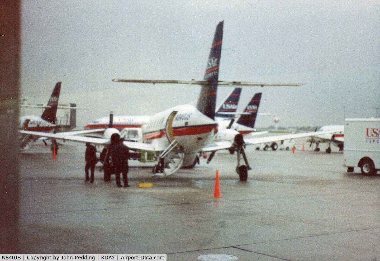N840JS, 1987 British Aerospace BAe Jetstream 3102 C/N 765, Dayton, OH 1991