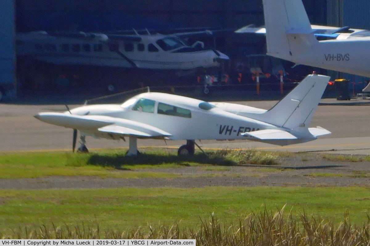 VH-FBM, Cessna 310R C/N 310R0837, At Coolangatta