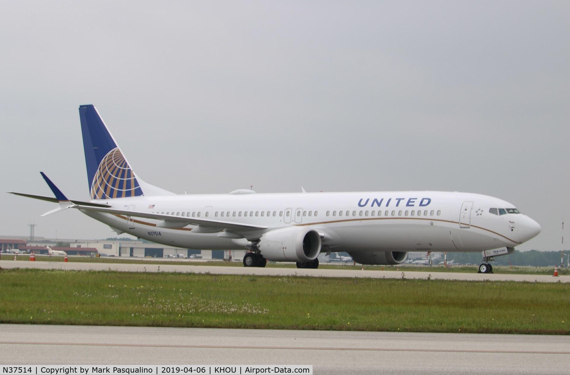 N37514, 2019 Boeing 737-9 MAX C/N 43450, Boeing 737-9 MAX