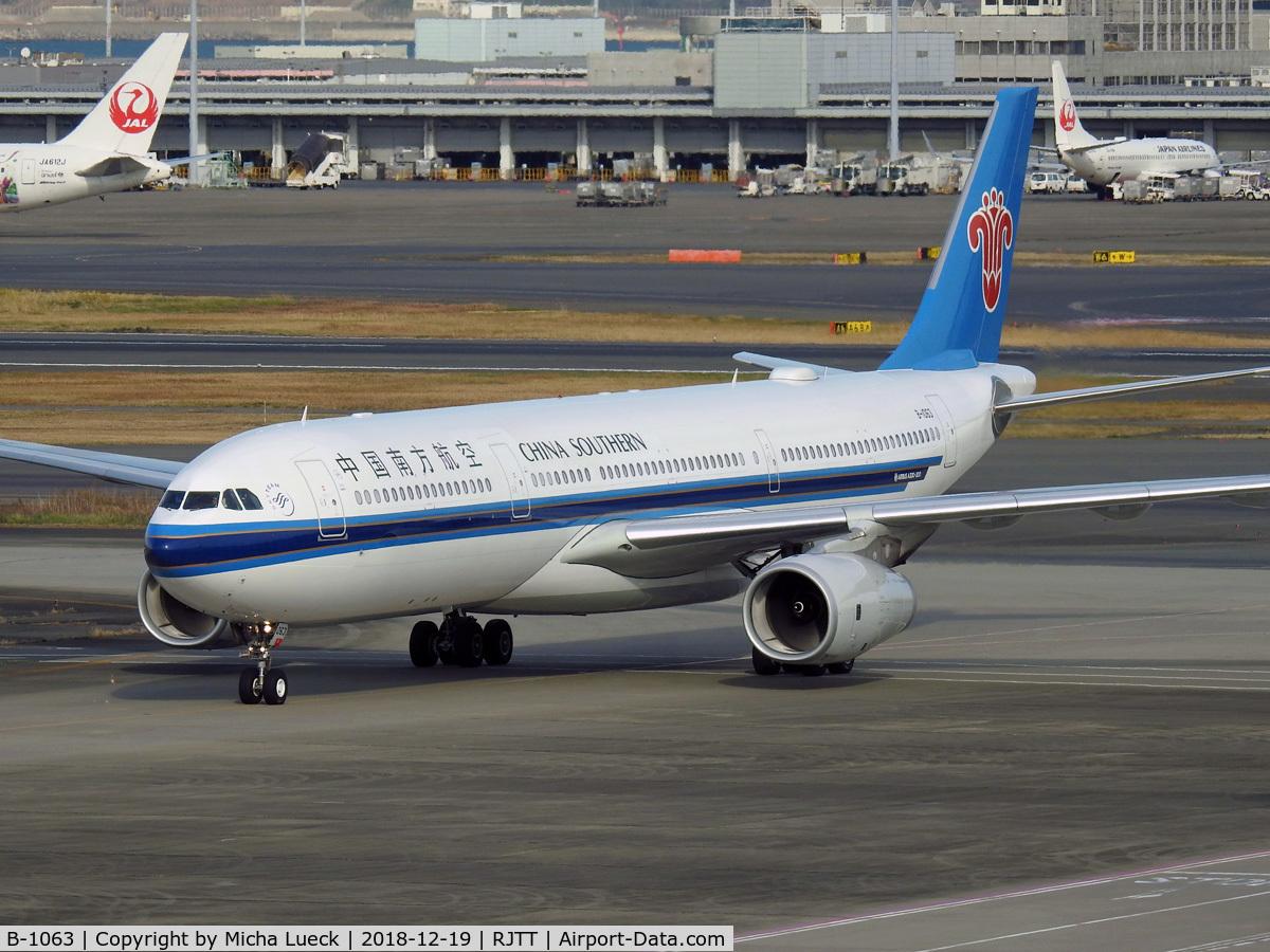 B-1063, 2018 Airbus A330-343 C/N 1852, At Haneda