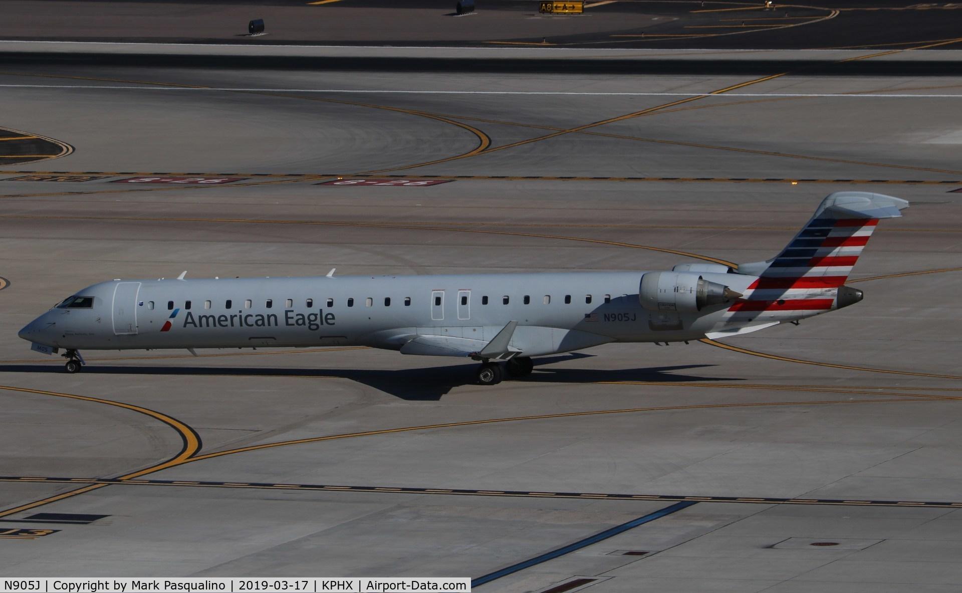 N905J, 2003 Bombardier CRJ-900 (CL-600-2D24) C/N 15005, CL-600-2D24
