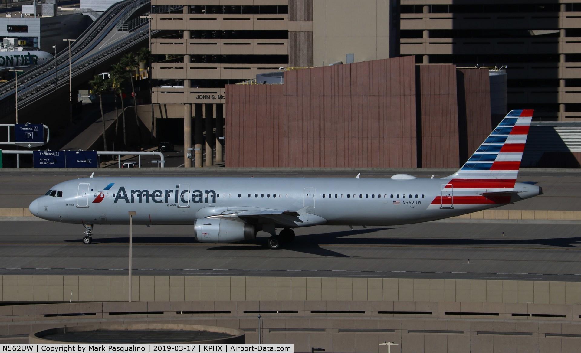 N562UW, 2012 Airbus A321-231 C/N 5332, Airbus A321-231