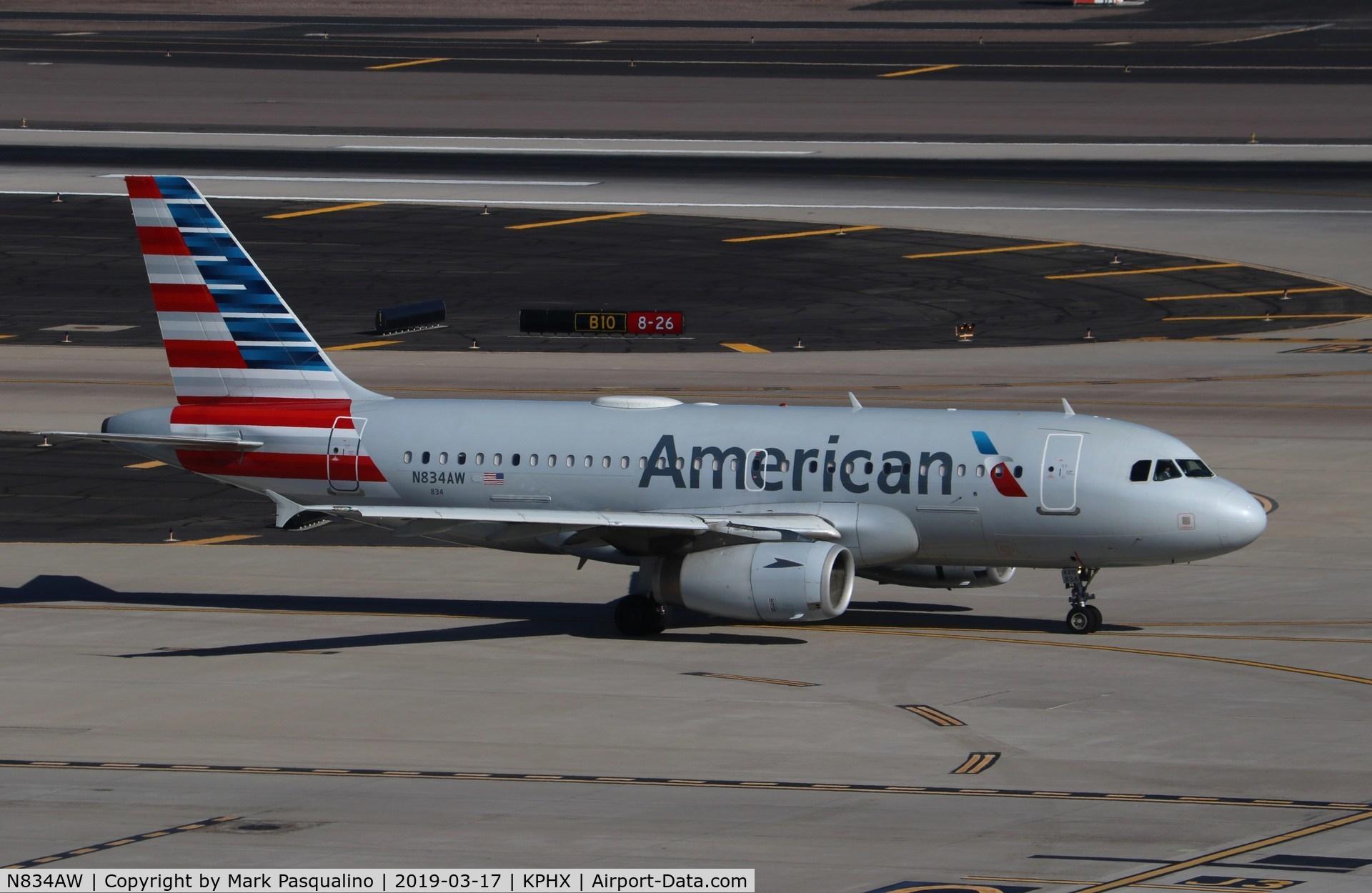 N834AW, 2004 Airbus A319-132 C/N 2302, Airbus A319-132