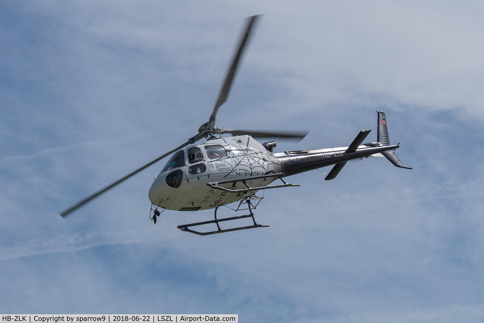 HB-ZLK, 2011 Eurocopter AS-350B-3 Ecureuil C/N 7115, At Locarno-Magadino