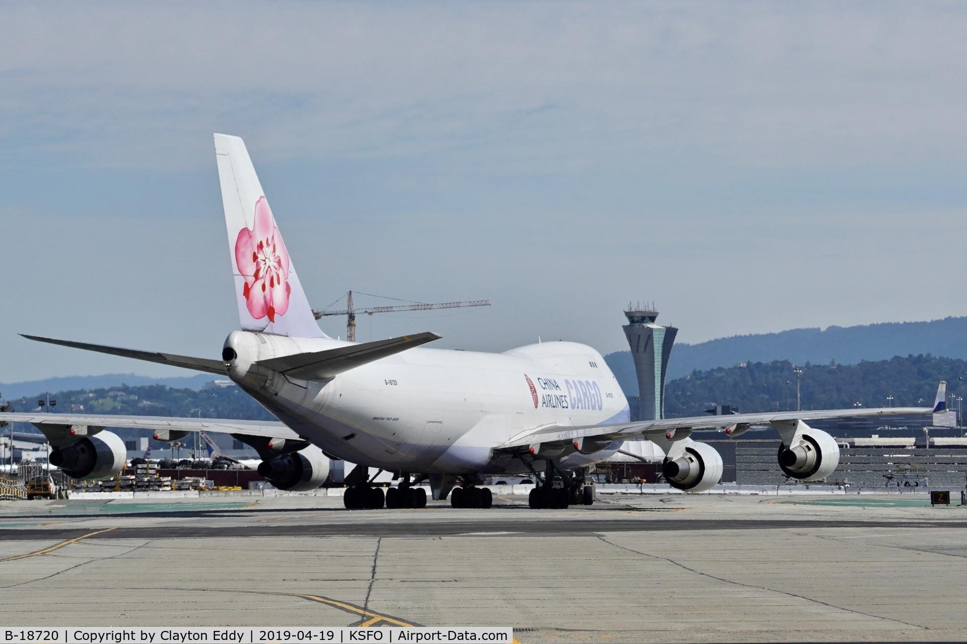 B-18720, 2005 Boeing 747-409F/SCD C/N 33733, SFO 2019.