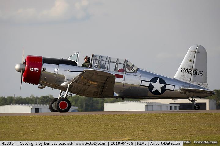 N133BT, 1943 Consolidated Vultee BT-13A C/N 9683, Consolidated Vultee BT-13A Valiant  C/N 9683, N133BT