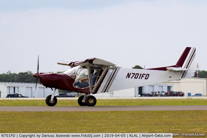 N701FD, Zenair STOL CH-701 C/N 75040, Zenair D-701  C/N 75040, N701FD