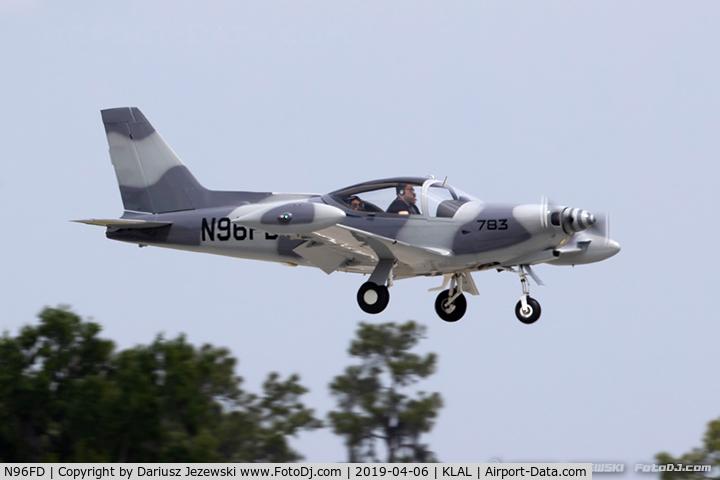 N96FD, 1990 SIAI-Marchetti SF-260D C/N 783, Agusta Spa F.260D  C/N 783, N96FD