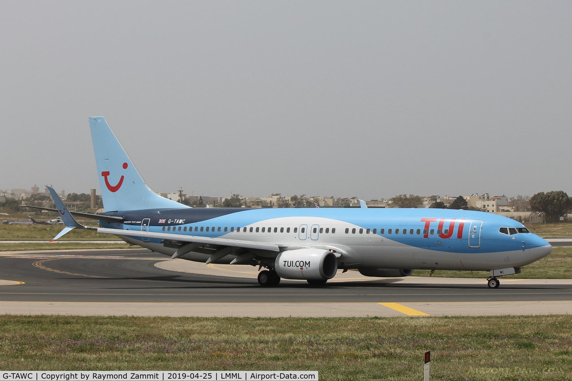 G-TAWC, 2012 Boeing 737-8K5 C/N 39922, B737-800 G-TAWC Thomson Airways