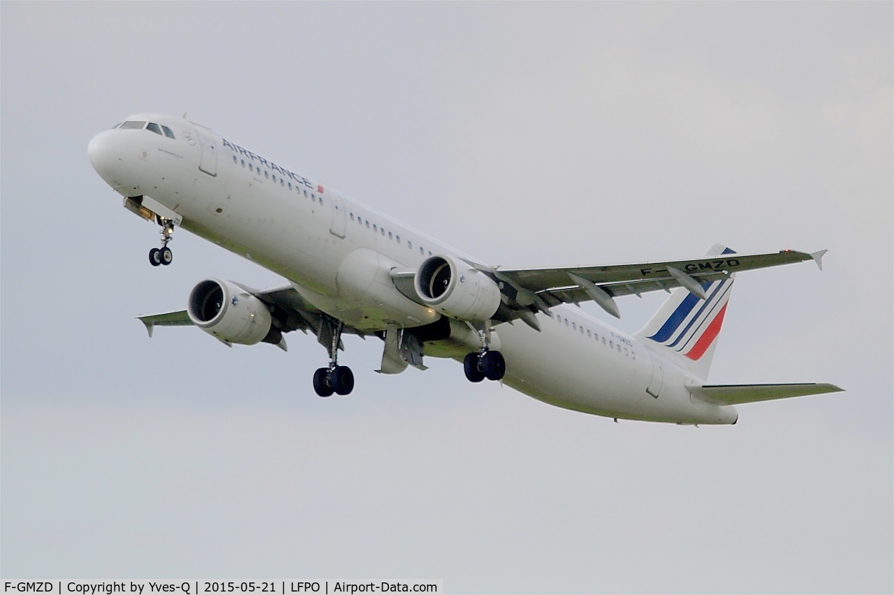 F-GMZD, 1995 Airbus A321-111 C/N 0529, Airbus A321-111, Take off Rwy 24, Paris-Orly Airport (LFPO-ORY)