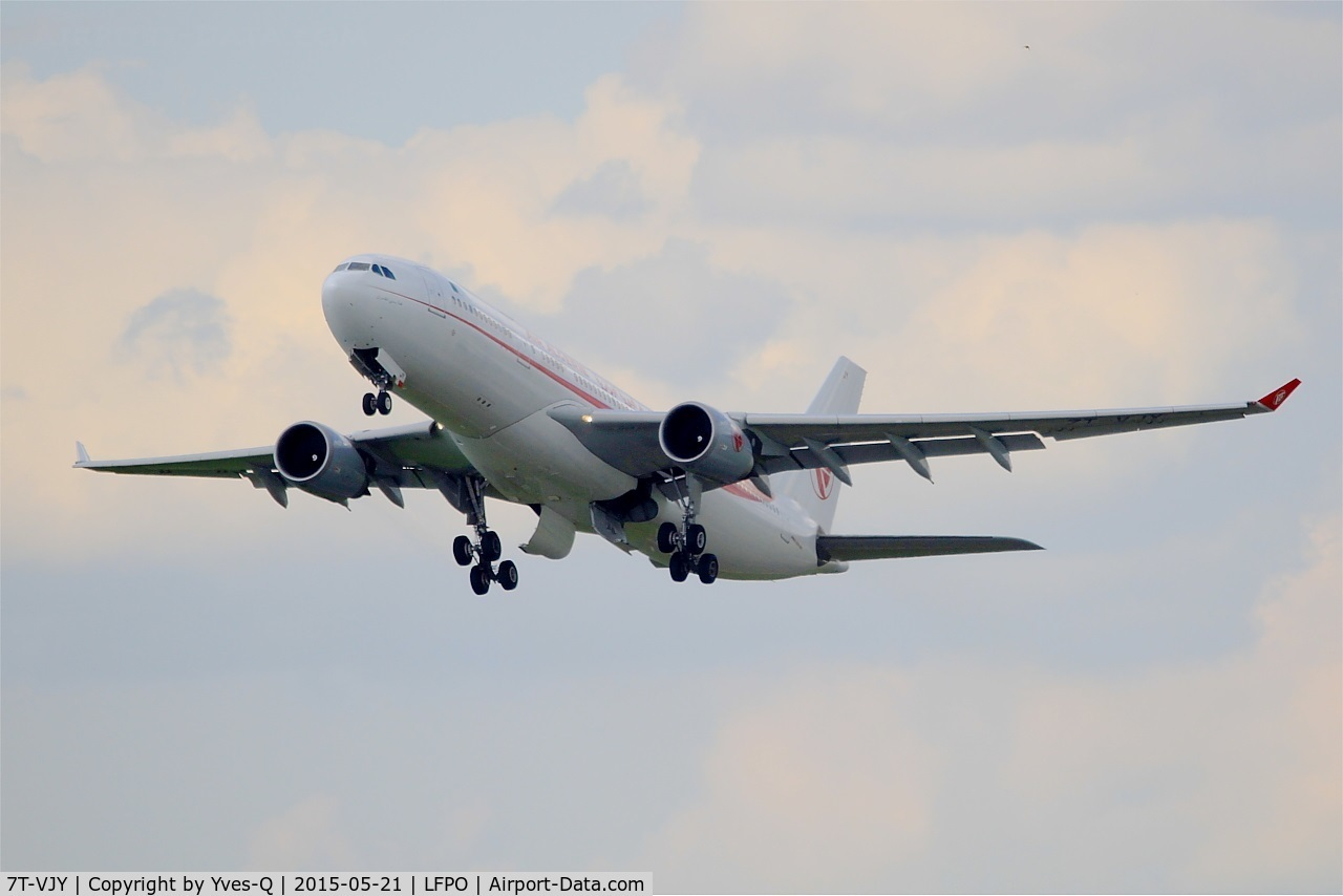 7T-VJY, 2005 Airbus A330-202 C/N 653, Airbus A330-202, Take off rwy 24, Paris-Orly airport (LFPO-ORY)