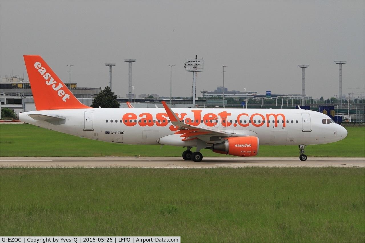 G-EZOC, 2015 Airbus A320-214 C/N 6485, Airbus A320-21, Take off run rwy 08, Paris-Orly Airport (LFPO-ORY)