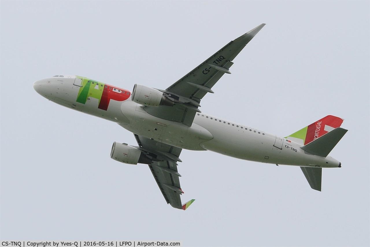 CS-TNQ, 2009 Airbus A320-214 C/N 3769, Airbus A320-214, Take off rwy 24, Paris-Orly airport (LFPO-ORY)