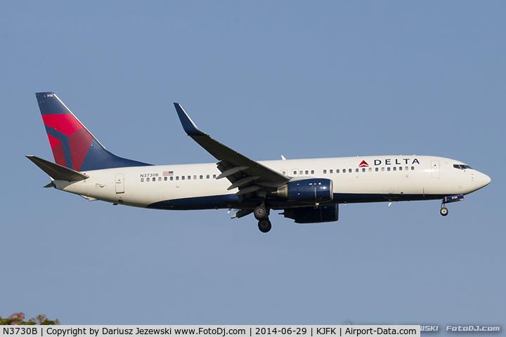 N3730B, 2000 Boeing 737-832 C/N 30538, Boeing 737-832 - Delta Air Lines  C/N 30538, N3730B