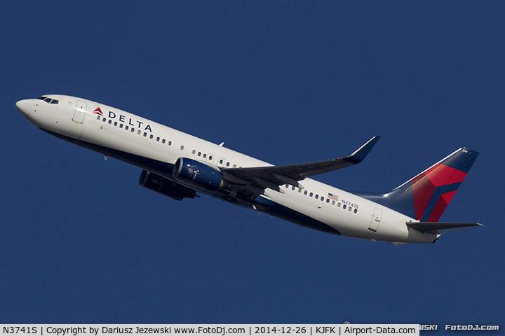N3741S, 2001 Boeing 737-832 C/N 30487, Boeing 737-832 - Delta Air Lines  C/N 30487, N3741S