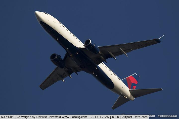 N3743H, 2001 Boeing 737-832 C/N 30836, Boeing 737-832 - Delta Air Lines  C/N 30836, N3743H