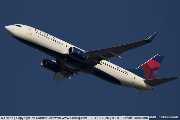 N3762Y, 2001 Boeing 737-832 C/N 30817, Boeing 737-832 - Delta Air Lines  C/N 30817, N3762Y