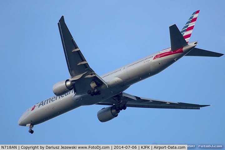 N718AN, 2012 Boeing 777-323/ER C/N 41665, Boeing 777-323/ER - American Airlines  C/N 41665, N718AN