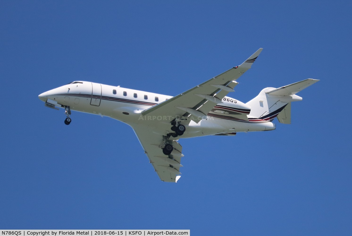 N786QS, 2015 Bombardier BD-100-1A10 (Challenger 350) C/N 20590, NetJets