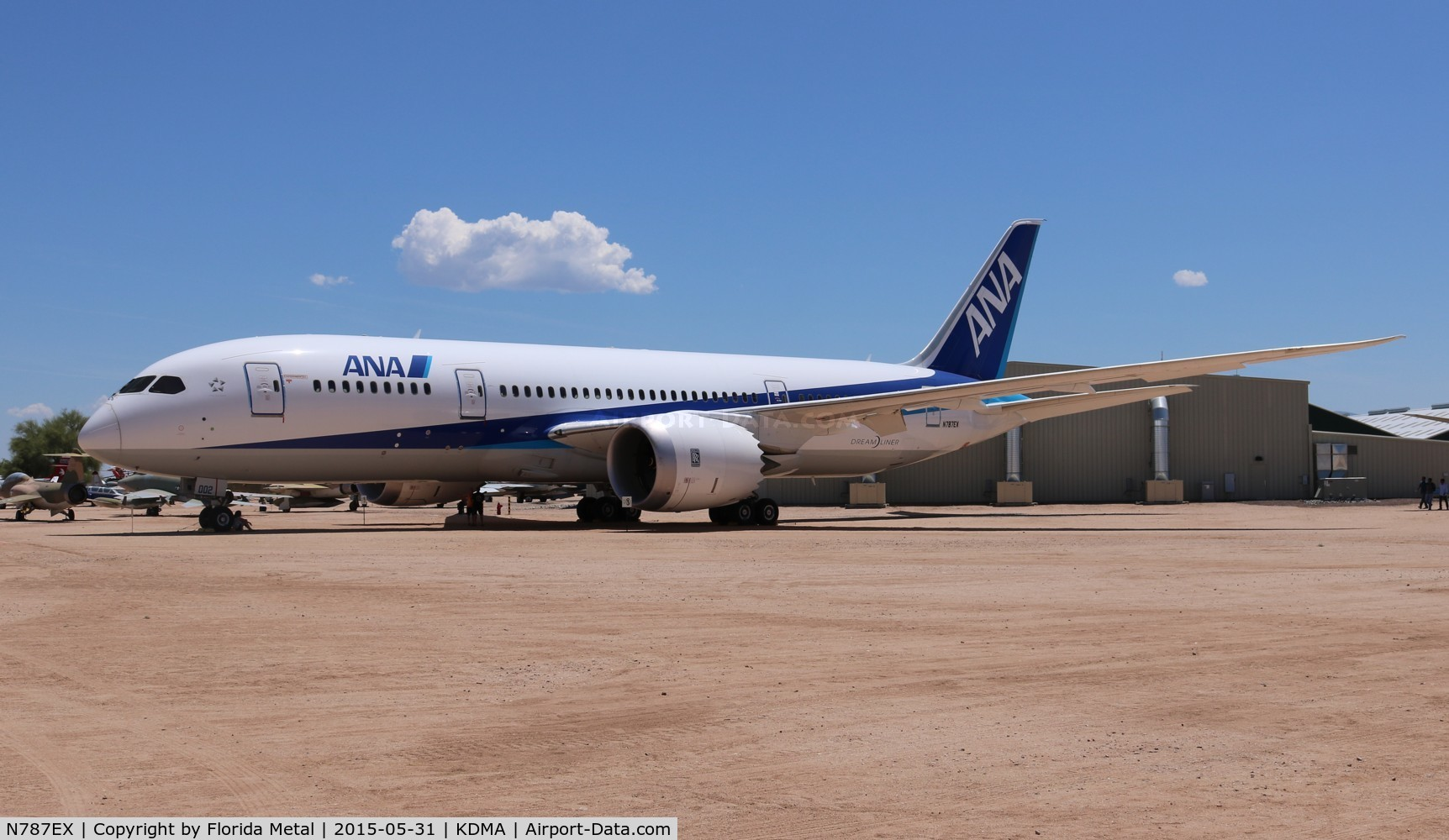 N787EX, 2009 Boeing 787-8 Dreamliner C/N 40691, 787-8