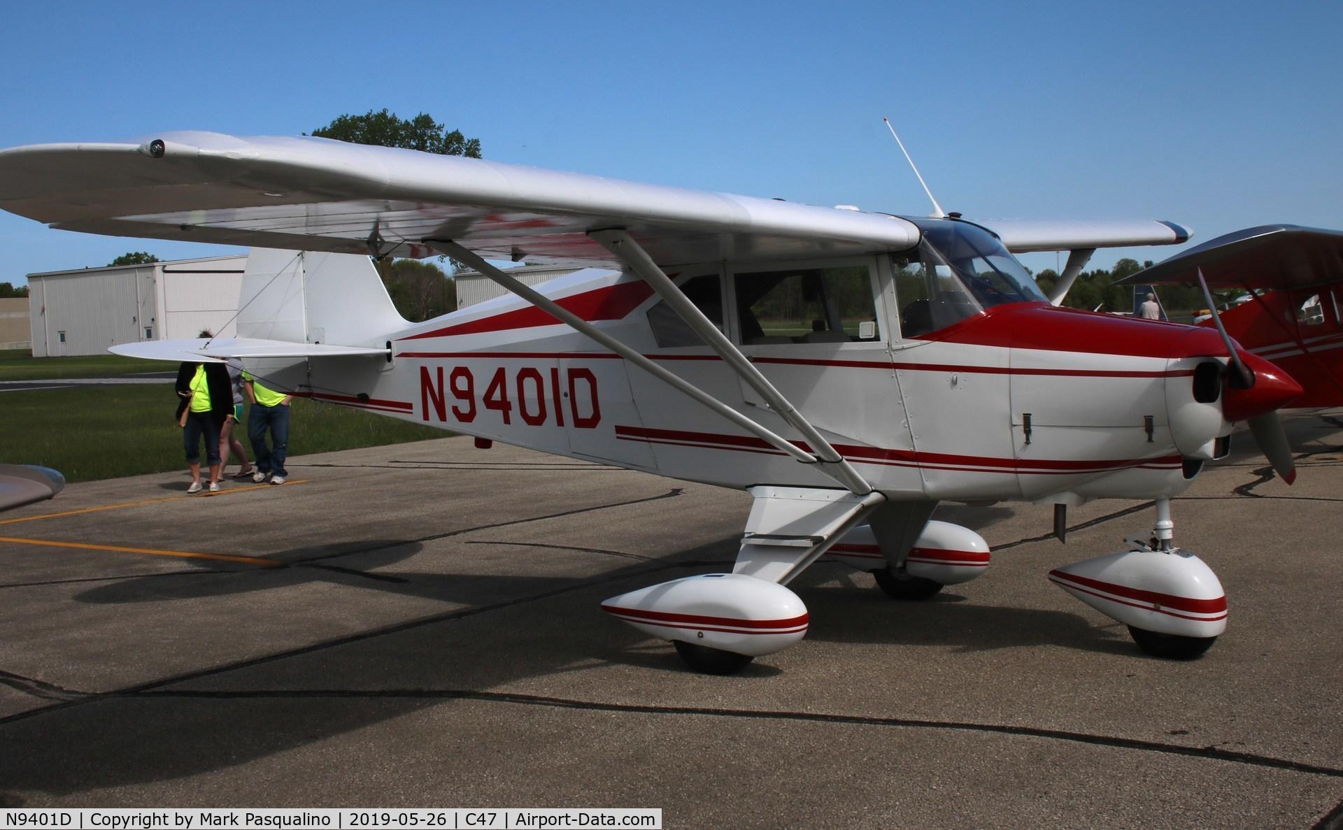 Aircraft N9401D (1958 Piper PA-22-160 Tri Pacer C/N 22-6374