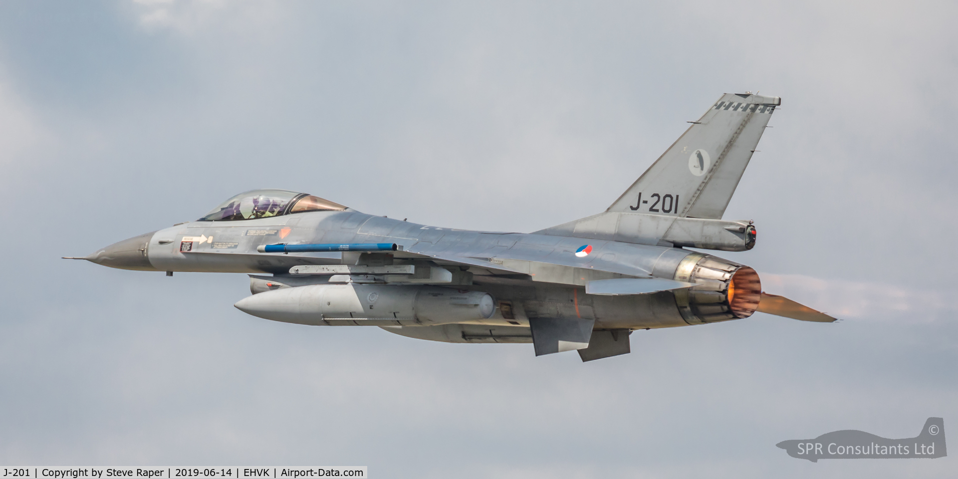 J-201, Fokker F-16AM Fighting Falcon C/N 6D-108, Royal Netherlands Air Force Base Volkel air day 14 June 2019