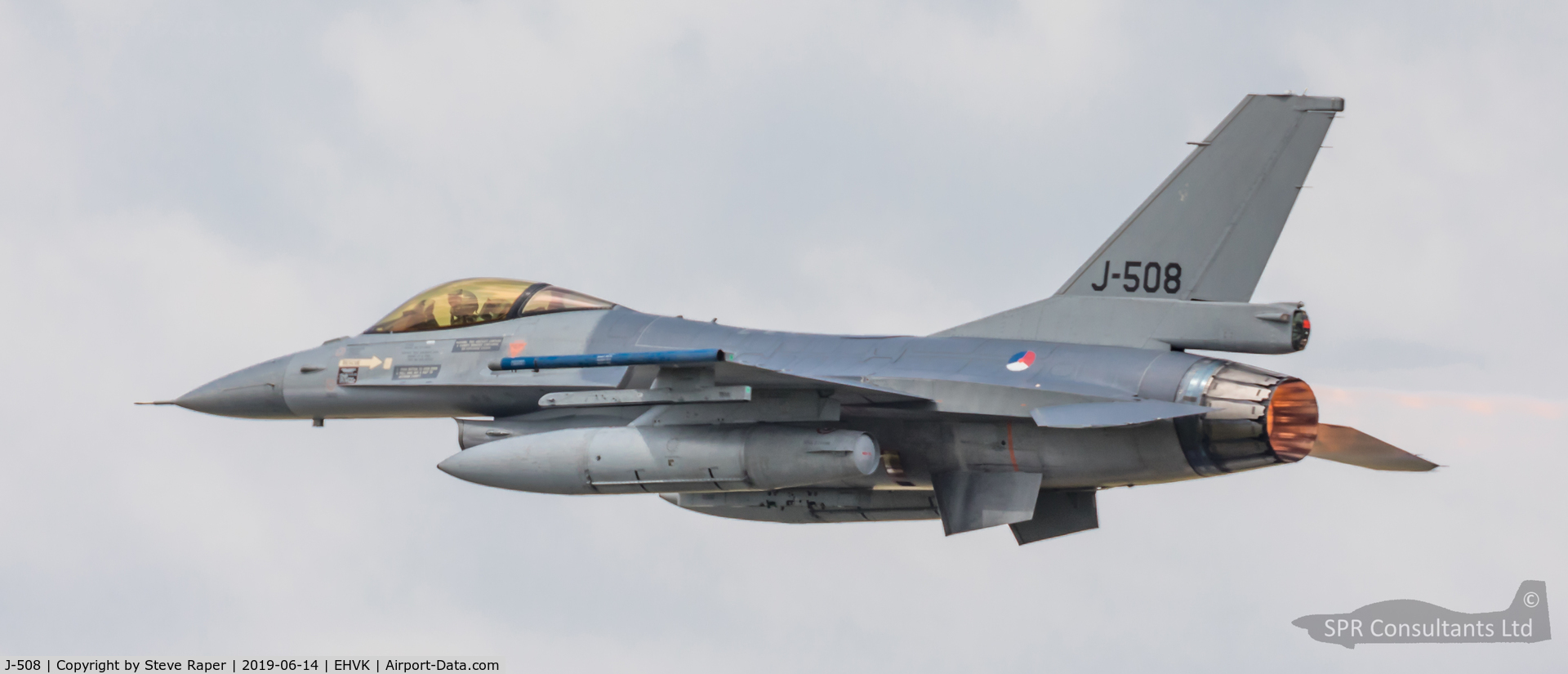J-508, 1987 Fokker F-16A Fighting Falcon C/N 6D-147, Royal Netherlands Air Force Base Volkel air day 14 June 2019