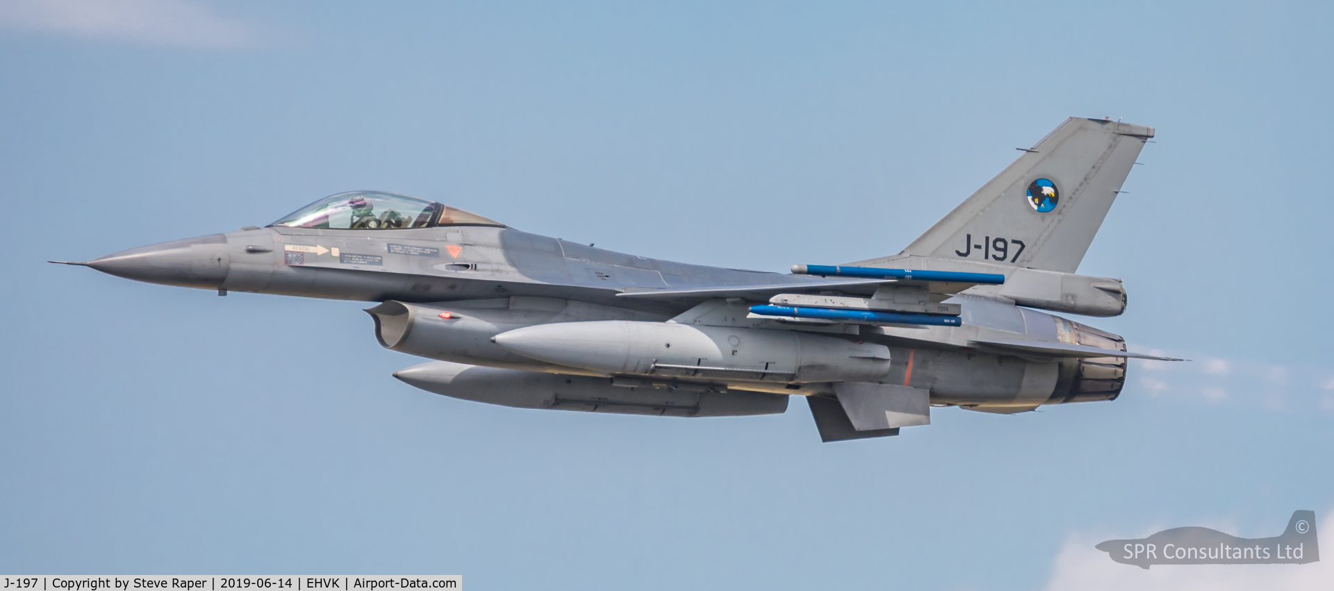 J-197, Fokker F-16AM Fighting Falcon C/N 6D-104, Royal Netherlands Air Force Base Volkel air day 14 June 2019