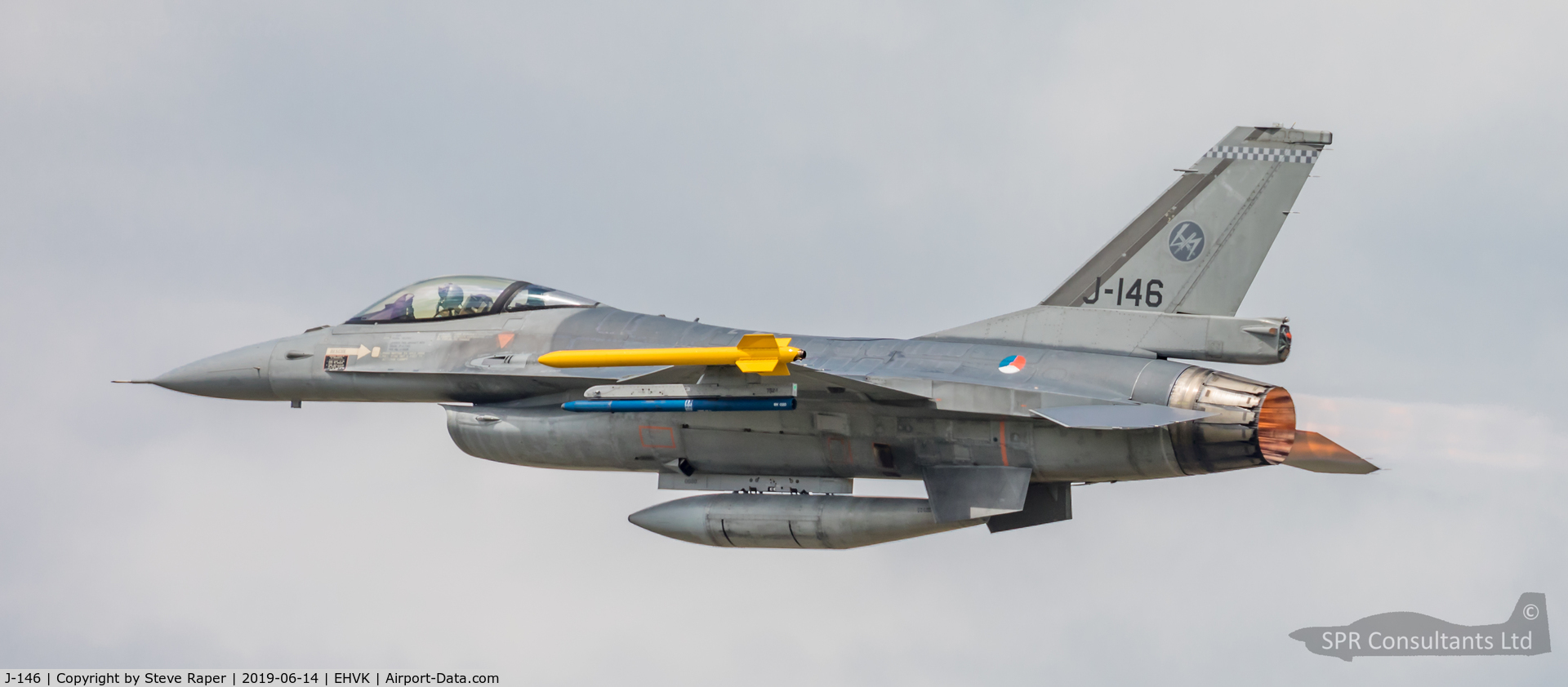J-146, 1985 Fokker F-16AM Fighting Falcon C/N 6D-136, Royal Netherlands Air Force Base Volkel air day 14 June 2019