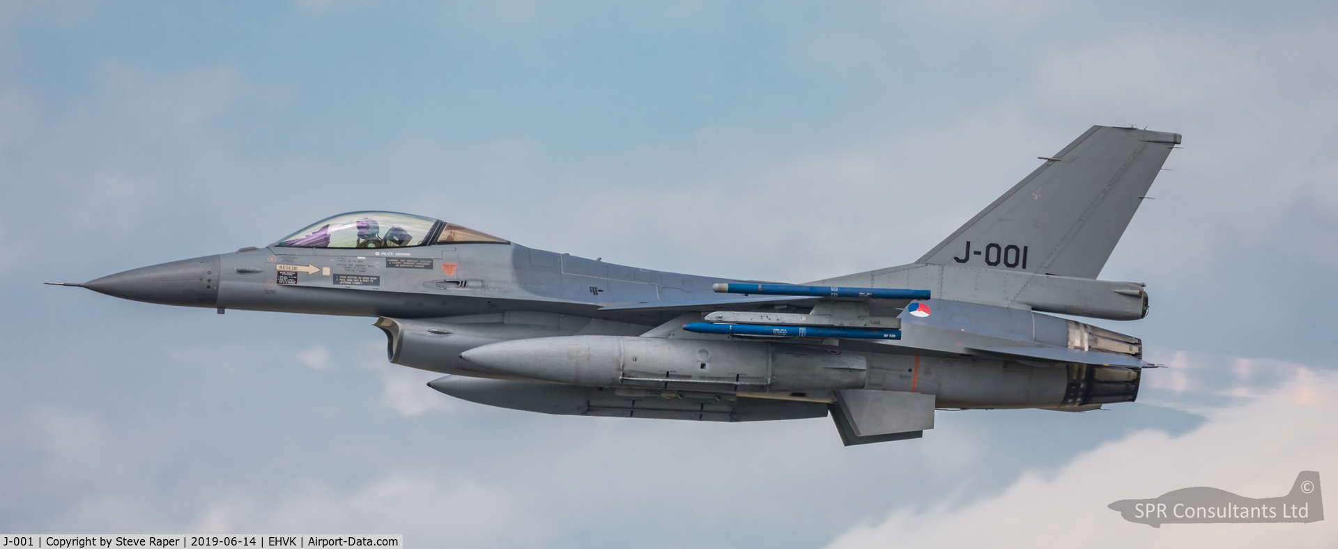 J-001, Fokker F-16AM Fighting Falcon C/N 6D-157, Royal Netherlands Air Force Base Volkel air day 14 June 2019
