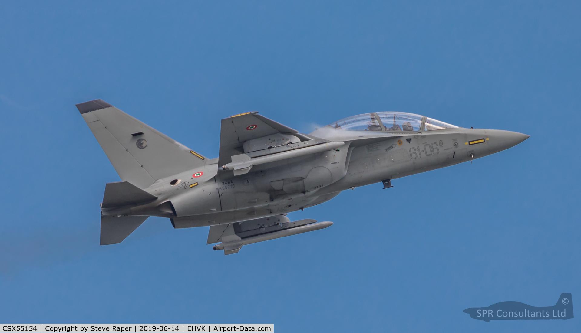CSX55154, Alenia Aermacchi T-346A Master C/N Not found CSX55154/MM55154, Royal Netherlands Air Force Base Volkel air day 14 June 2019
