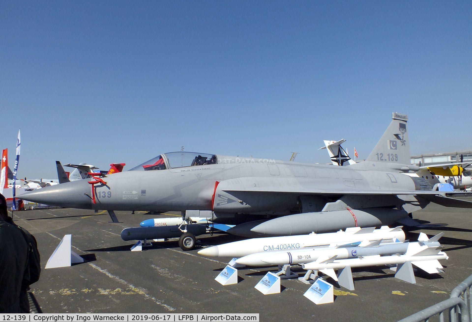 Aircraft 12-139 (PAC JF-17 Thunder C/N FC10131) Photo by