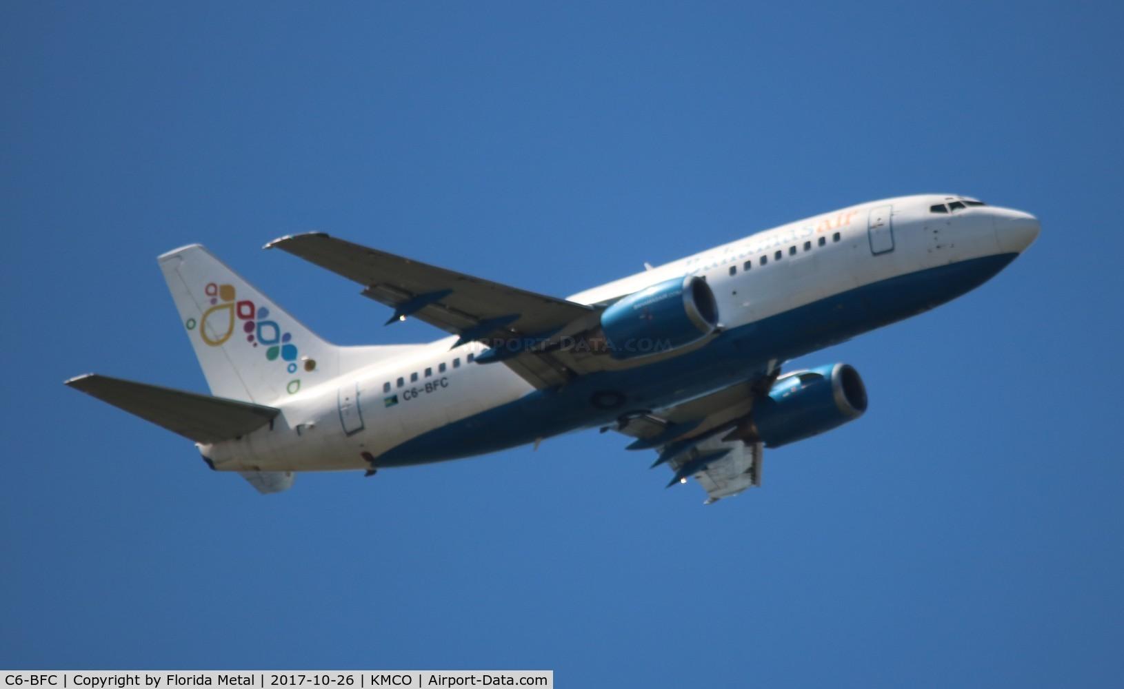 C6-BFC, 1997 Boeing 737-505 C/N 27631, MCO spotting