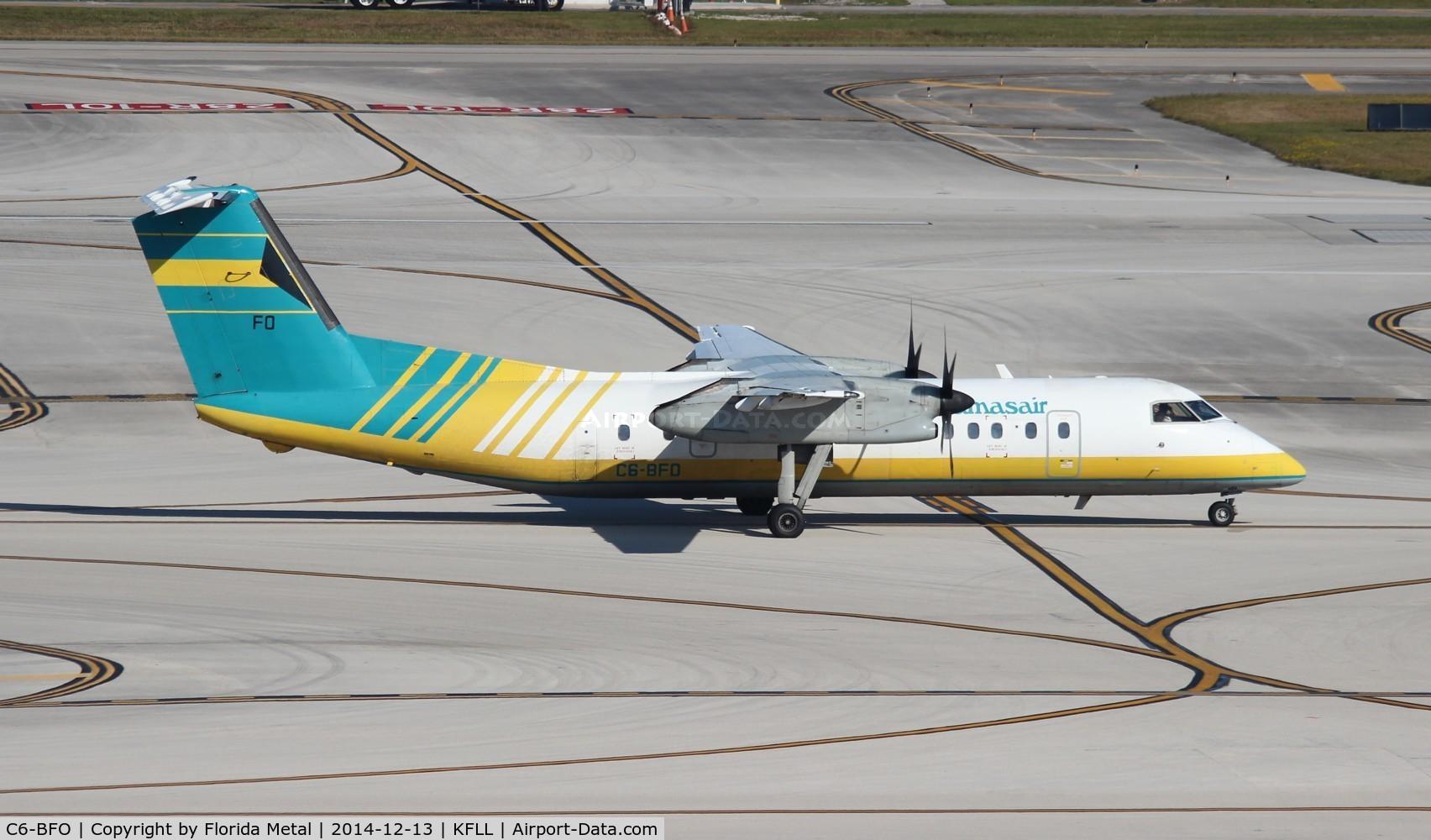 C6-BFO, 1989 De Havilland Canada DHC-8-301 Dash 8 C/N 164, FLL spotting