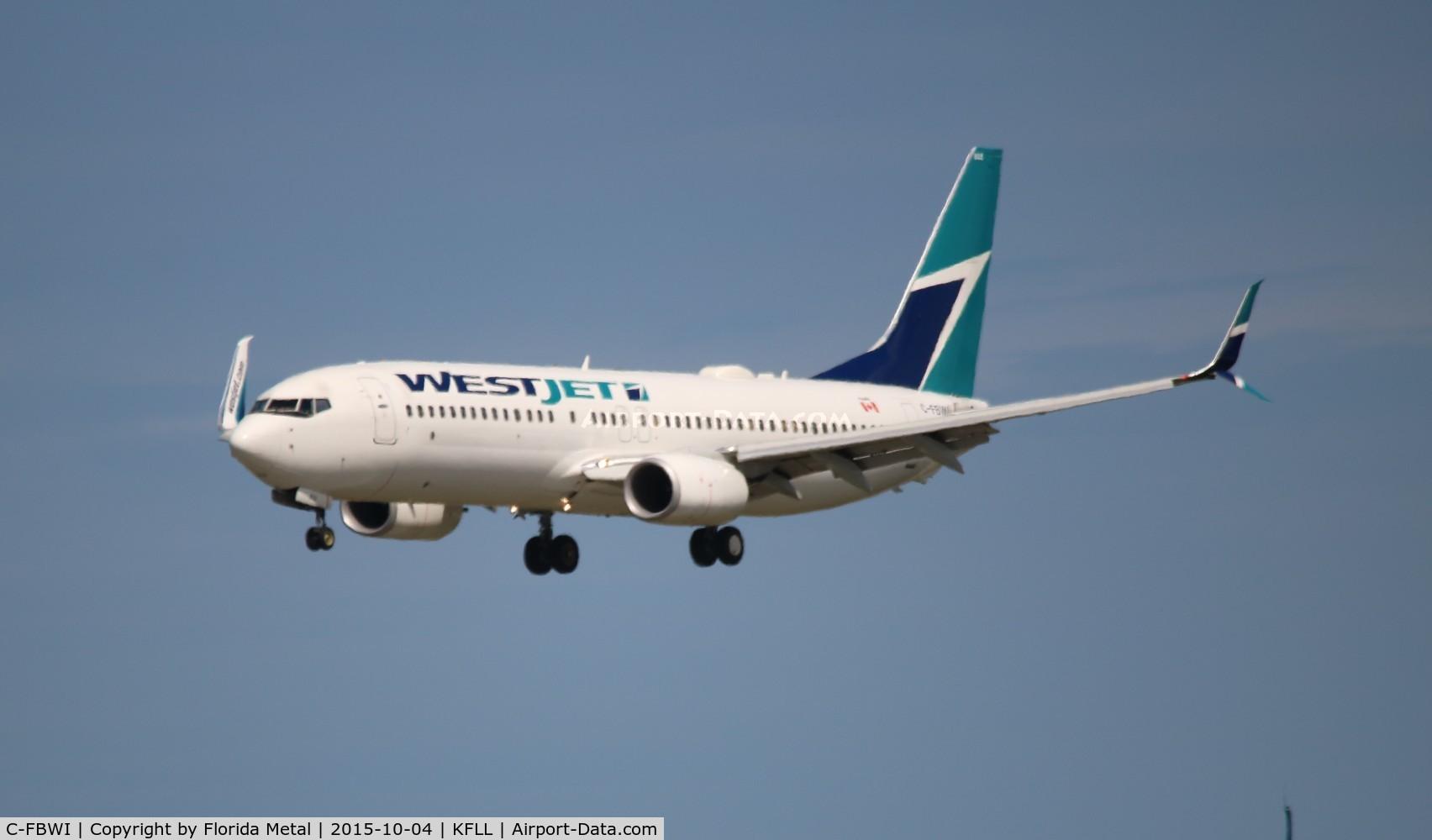 C-FBWI, 2013 Boeing 737-8CT C/N 39090, FLL spotting