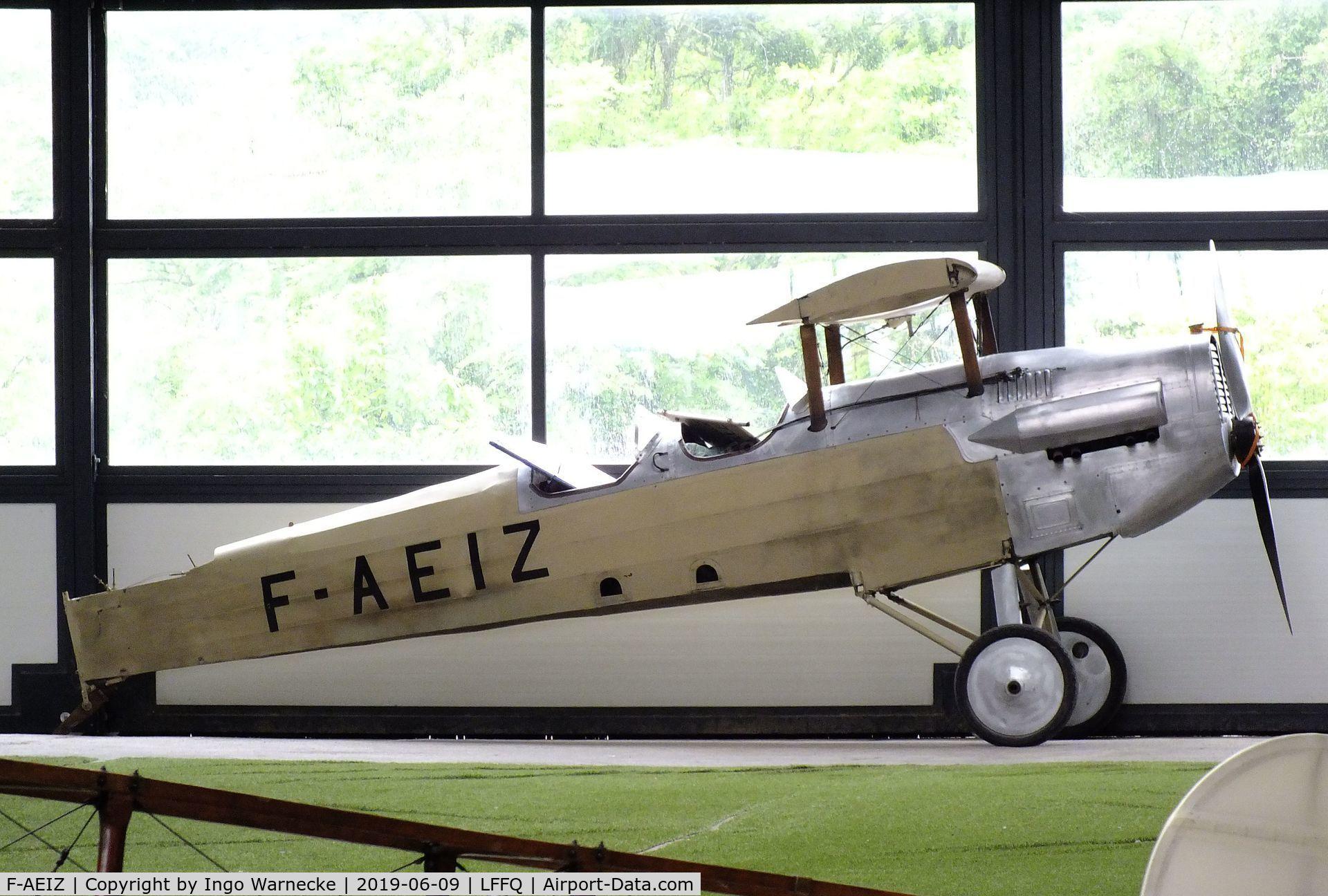 F-AEIZ, Potez 25 Replica C/N unknown_f-aeiz, Potez 25 replica at the Meeting Aerien 2019, La-Ferte-Alais