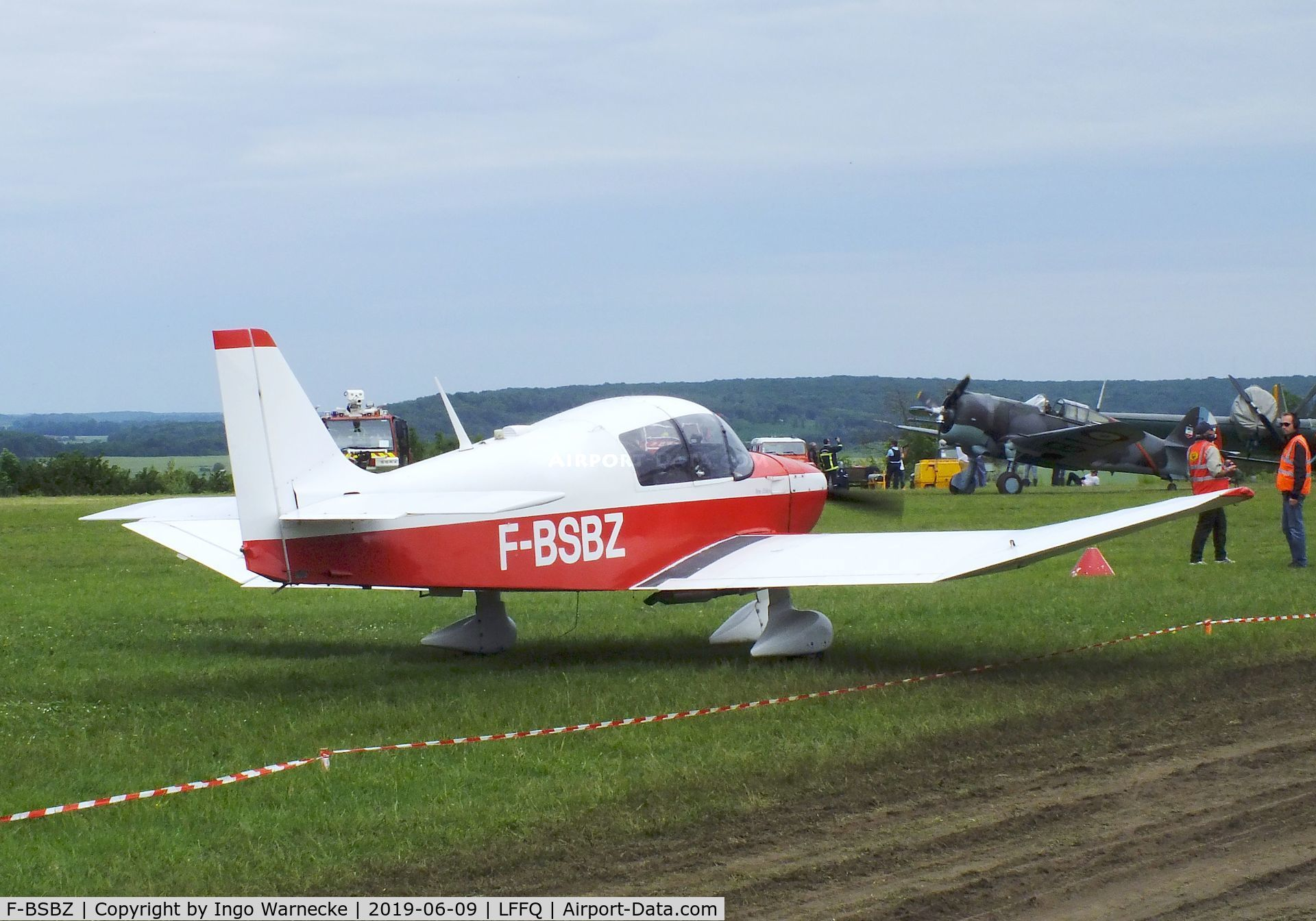 F-BSBZ, CEA DR-360 Chevalier C/N 482, CEA Robin DR.360 Chevalier at the Meeting Aerien 2019, La-Ferte-Alais