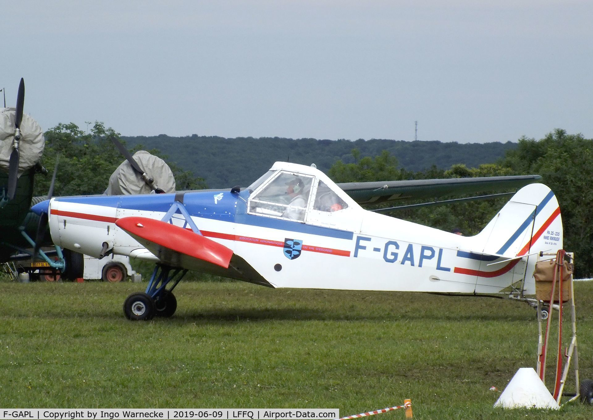F-GAPL, Piper PA-25-235 Pawnee C/N 25-4714, Piper PA-25-235 Pawnee at the Meeting Aerien 2019, La-Ferte-Alais