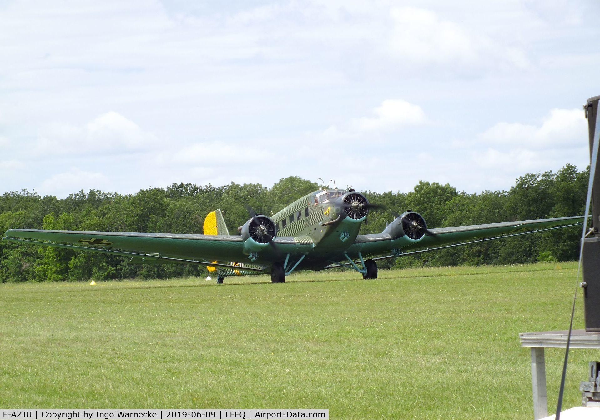 F-AZJU, 1952 Junkers (CASA) 352L (Ju-52) C/N 103, CASA 352L (Junkers Ju 52/3m) at the Meeting Aerien 2019, La-Ferte-Alais