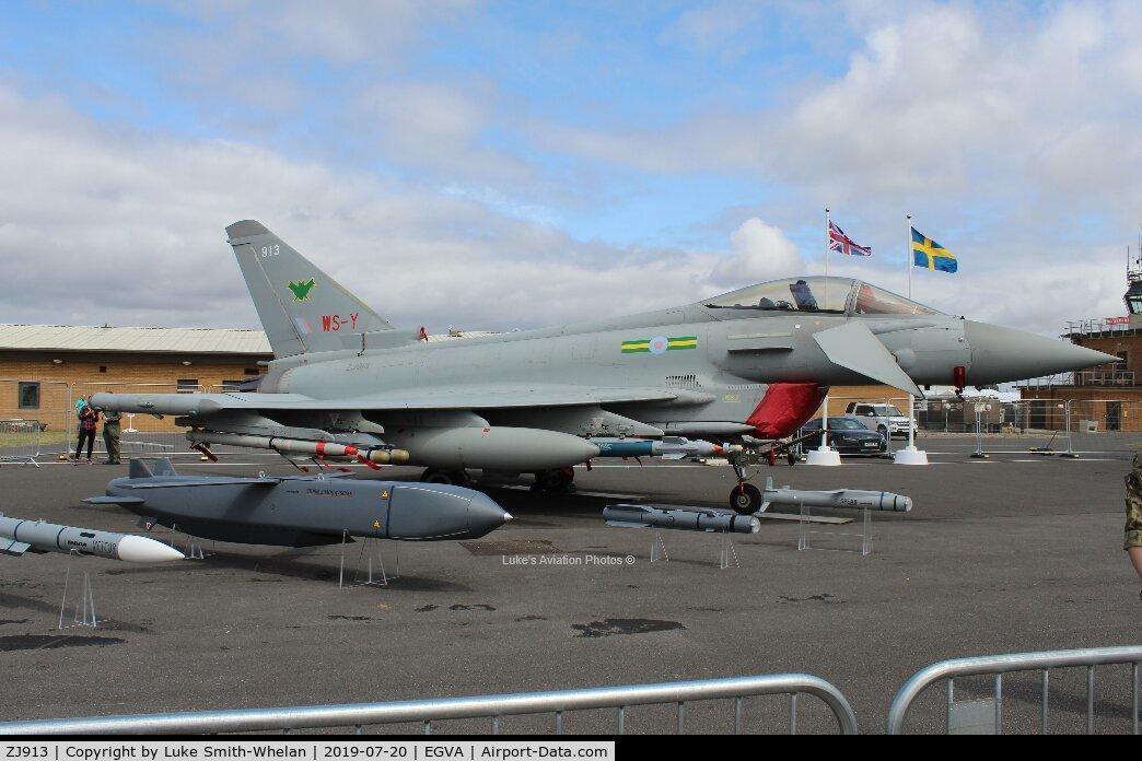 ZJ913, 2004 Eurofighter EF-2000 Typhoon F2 C/N 0047/BS004, At RIAT 2019