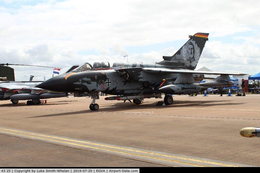 43 25, Panavia Tornado IDS C/N 062/GS008/4025, At RIAT 2019