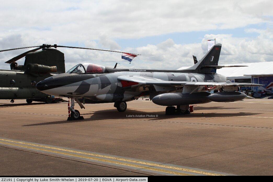ZZ191, 1959 Hawker Hunter F.58 C/N 41H-697425, At RIAT 2019