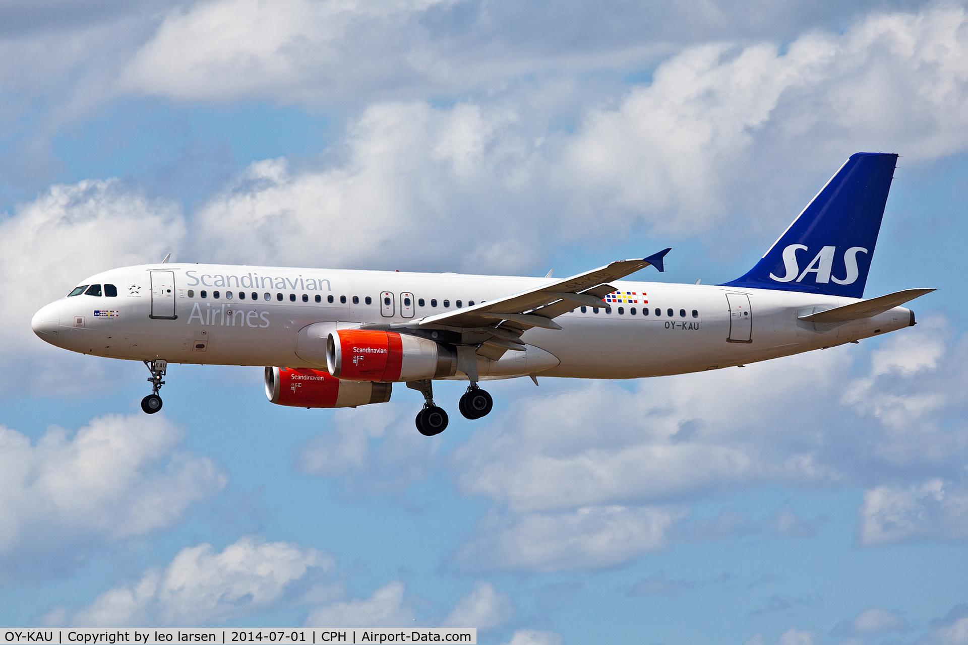 OY-KAU, 2007 Airbus A320-232 C/N 3227, Copenhagen 1.7.2014