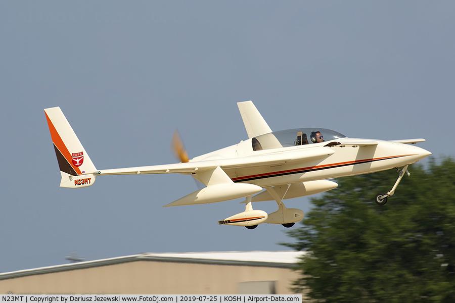 N23MT, 1985 Rutan Long-EZ C/N 955, Rutan Long-EZ  C/N 955, N23MT