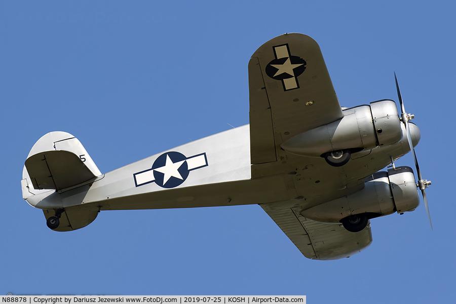 N88878, 1943 Cessna UC-78C (T-50) Bobcat C/N 4121, Cessna T-50 Bobcat