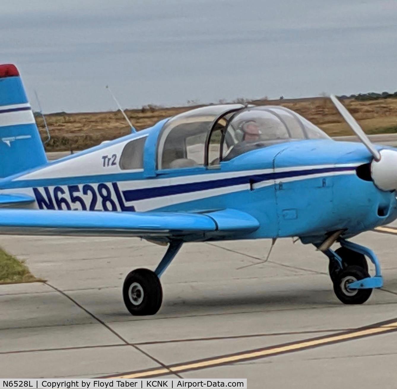 N6528L, 1974 Grumman American AA-1B Trainer C/N AA1B-0328, Kansas Air Tour at Blosser Municipal