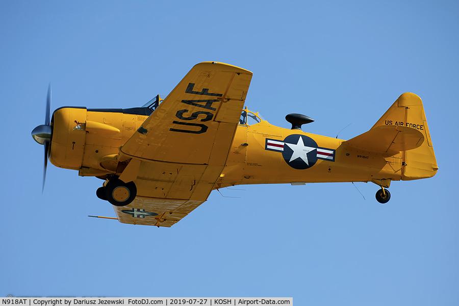 N918AT, 1949 North American T-6G Texan C/N 168-473, North American T-6G Texan  C/N 49-3359 , N918AT